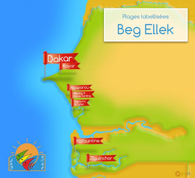 "Plages labelisées ""Beg Ellek"""